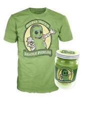 Funko Pop! Pickle Rick Shirt in Jar (Size XL, Sealed, Rick & Morty) - 2017 New Y