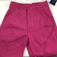 Vtg 90s New NOS Ps Panhandle Slim High Waisted Western Jeans 11 - 12 - Pink
