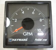 New Hayward FS2200AM Gallons Per Minute GPM Analog Indicator Guage Flosite 2200