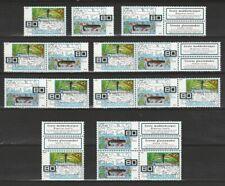 Nederland Stockkaart Zegels en Combinaties uit Postzegelboekjes 63 Postfris