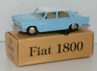 SCOTTOY 1/43 SCALE - FIAT 1800 - BLUE WITH WHITE ROOF