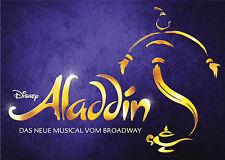 ALADDIN Musical in Stuttgart 2 Tage Hotel+Tickets / Eintrittskarten 2 Personen