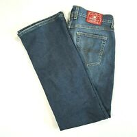 LUCKY BRAND Womens Mid Rise FLARE Leg Jeans Medium Wash Size 30 REGULAR