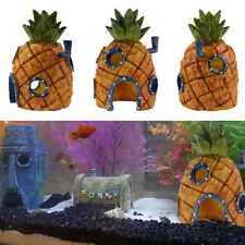 New Spongebob Squarepants 13cm Pineapple House Fish Tank Aquarium Ornament