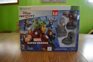 XBox One Disney Infinity Marvel Super Heroes 2.0 Edition BRAND NEW. Damage Box