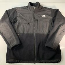 The North Face Men's Size L Denali Polartec Black Fleece Full Zip Jacket