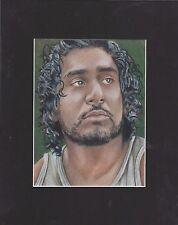 "LOST ""Sayid Jarrah"" Art Print 8x10"""