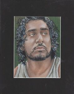 "LOST ""Sayid Jarrah"" Art Print 8x10"""