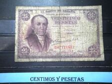 CyP Billete 25 Pesetas Florez Estrada del 1948