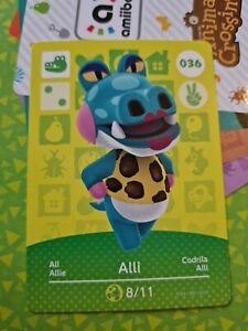 Animal Crossing Amiibo Alli 036