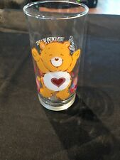 Vintage 1983 Tenderheart Care Bear Limited Edition Collector Glass Pizza Hut