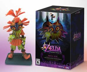 The Legend of Zelda Majora's Mask 3D SKULL KID Collectible Figurine New Figma
