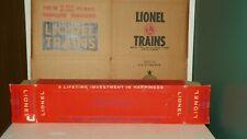 LIONEL # 2412 SANTA FE VISTA DOME BOX  TOUGH PERFORATED BOX COLLECTOR C-9