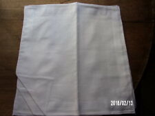 12 mouchoirs femme 100% coton blanc tissées n°155