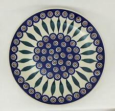 Bunzlauer Keramik  flacher Teller, Essteller, Speiseteller, ø 26cm (T132-54)