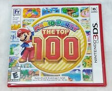 Mario Party: The Top 100 (Nintendo 3DS, 2017) BRAND NEW SEALED