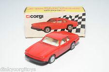 CORGI 56341 JAGUAR XJ S XJS RED MINT BOXED