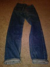 Vtg Levis 501 Red Line #6 Button Fly Western Denim Pants 29X32 Men 70S Cowboy