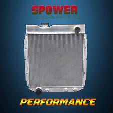 3-Row/CORE Aluminum Radiator For Ford Mustang Falcon 60-66 Mercury Comet 60-65