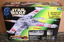 Kenner💥Star Wars Electronic Power F/X: Luke Skywalker's Red Five X-Wing Fighter