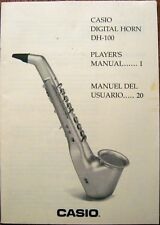 Casio DH-100 Digital Horn Original Owner's User's Operating Manual Book, Japan