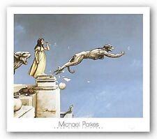 FANTASY ART PRINT Gargoyles Michael Parkes