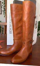 Frye Dorado Leather Riding Women's Boots Sz 7 1/7 Cognac