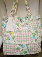 Frog summer handbag/ shoulder/ purse soft patchwork  NWT  fast free shipping