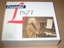 LISZT l'essentiel - 3 cd box set - SEALED -