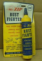Original NOS Mr Zip Rust Fighter Store display. Dated 1962. *Gas & Oil*
