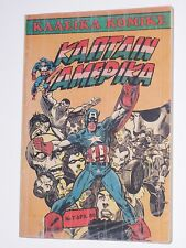 CAPTAIN AMERICA TOMOS#7 TPB GREEK COMIC KABANAS RARE MARVEL HELLAS #50,52 X-MEN