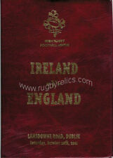 IRELAND v ENGLAND 2001 SPECIAL EDITION RUGBY PROGRAMME