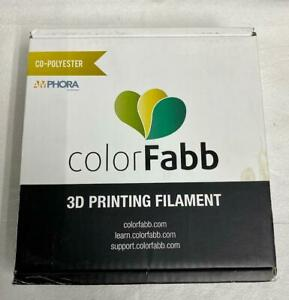Amphora ColorFabb ngen 3d printing filament Red 1.75mm NEW
