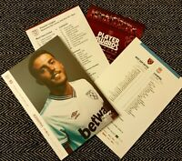 West Ham v Liverpool FC Matchday Programme with teamsheet 29/01/2020! LAST ONE!!