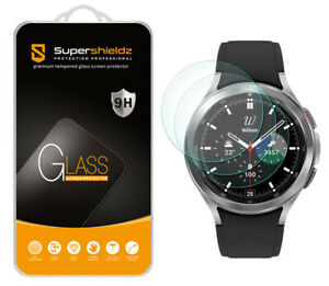3X Tempered Glass Screen Protector for Samsung Galaxy Watch 4 Classic (46mm)