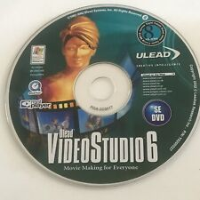 Ulead Video Studio 6 | Movie Making Software | DVD - Windows 98/2000/ME | VGC