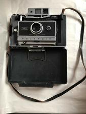 Vintage Polaroid Automatic 250 Land Camera w/ Leather Strap, Range Finder ....