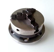 Amadeal 65 mm 3 mordaza auto centrado Torno Chuck Rosca 14x1mm + placa & T-tuercas