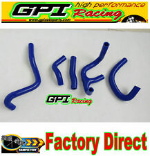 Silicone Radiator Hose fit Suzuki RGV 250 All Years BLUE NEW