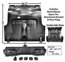 1971-73 Mustang Fastback Trunk Floor Complete Heavy Gauge New