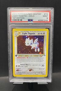 2002 Pokémon Neo Destiny Light Togetic #15 Holo 1st Edition PSA 9 MINT