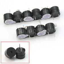 bonnes industriels 10 Pcs 5V active Buzzer Actif continu Couleur Noir ta4u