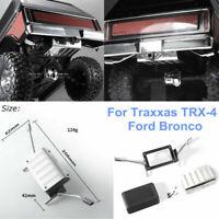 Edelstahl Simulation Tank Exhaust Pipe für Traxxas TRX-4 Car Bronco DJC-9157