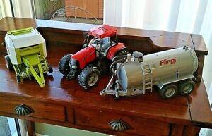 BRUDER Farm Toys x 3.