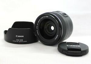 [Near Mint] Canon EF 24mm F/2.8 IS USM AF/MF Wide Angle Lens w/ Hood EW-65B