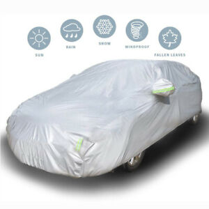 Universal Fit Car Cover Waterproof Breathable Snow Rain UV Protection for Toyota