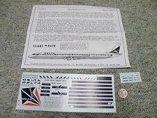 Flight Path decals 1/144 FP44-31 Delta Airlines DC-8-51/61/71    Box 7