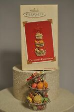 Hallmark - Delicious Christmas - Cooking - Hanging Baskets  - Ornament