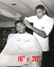 "Muhammad Ali~Hair Salon~Spa~Barber~Photo~Hair Cut~Stylist~Poster~16"" x 20"""