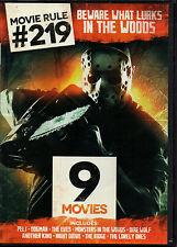 Movie Rule #219: Beware What Lurks in the Woods (DVD, 2014, 2-Disc Set)